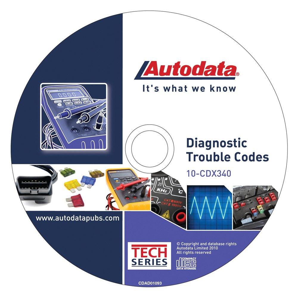 Autodata® 10-CDX340 - 2010 Diagnostic Trouble Codes CD