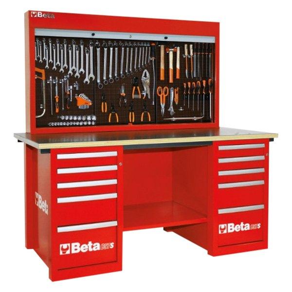 Red 5-Drawer MasterCargo Workbench