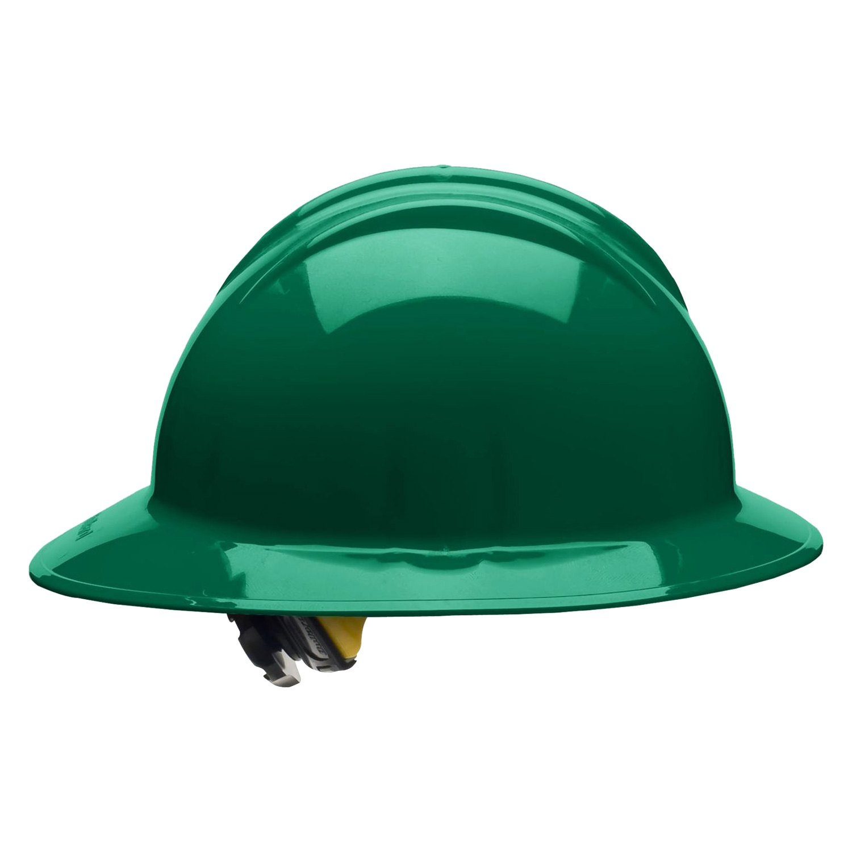 Bullard® 33FGR - Classic C33 HDPE Full Brim Hard Hat