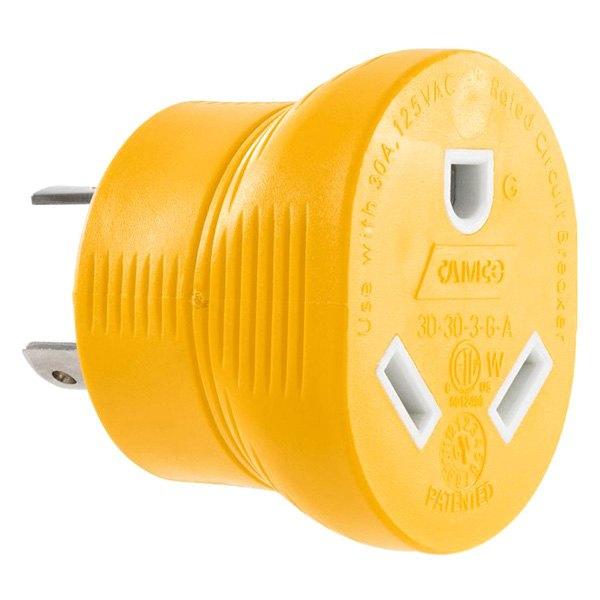 Camco 55333 30a Power Grip Heavy Duty Generator Adapter Toolsid Com