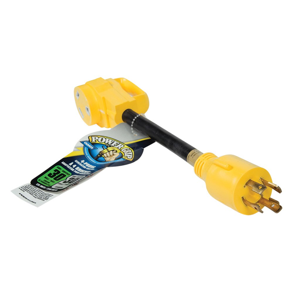 Camco 55382 30a Dogbone Power Grip Generator Adapter Toolsid Com