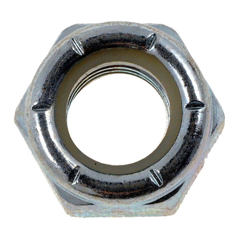 Dorman® 250-011 - Lock Nut with Nylon Ring (Grade 2 Steel, Zinc, 5/16