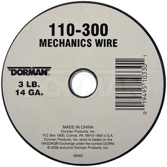 Dorman 110-300 Spool Mechanics Wire 174 Piece 14 Gauge 3 Pound