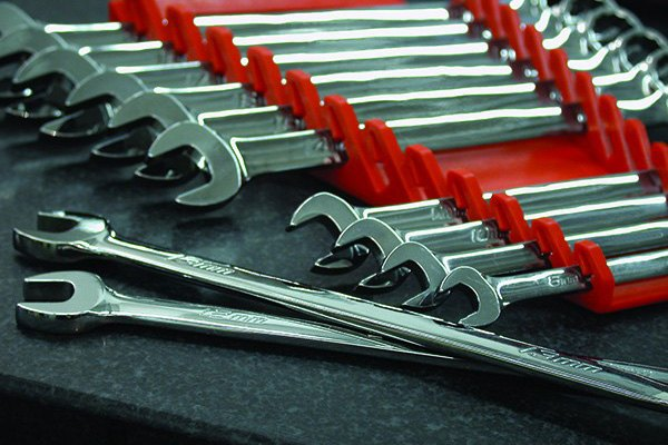 Black 10 Tool Ernst Manufacturing Gripper Wrench Organizer