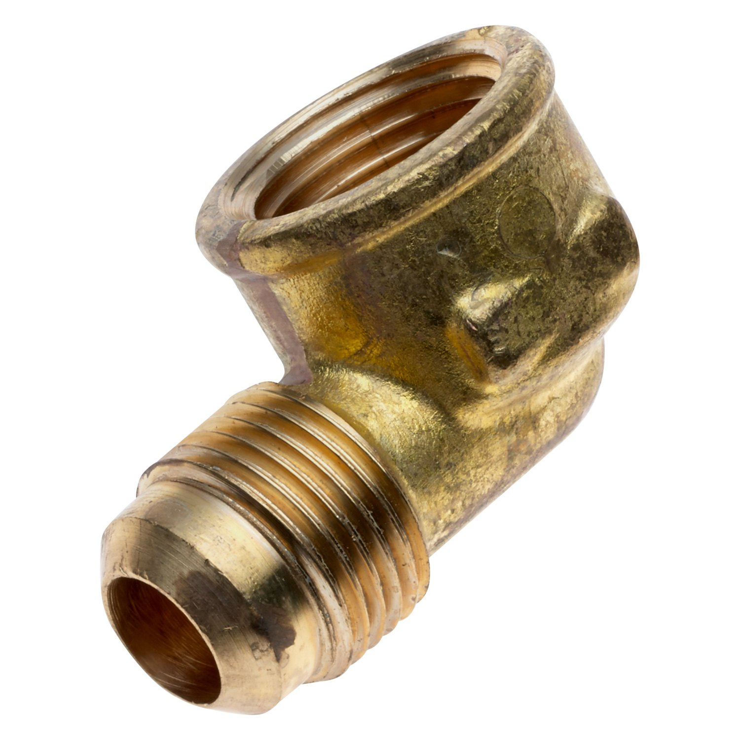 Flare to Female Pipe Flare and Female Pipe Connector Brass Parker 46F-10-12-pk20 45 Degree Fitting Pack of 20 5//8 and 3//4