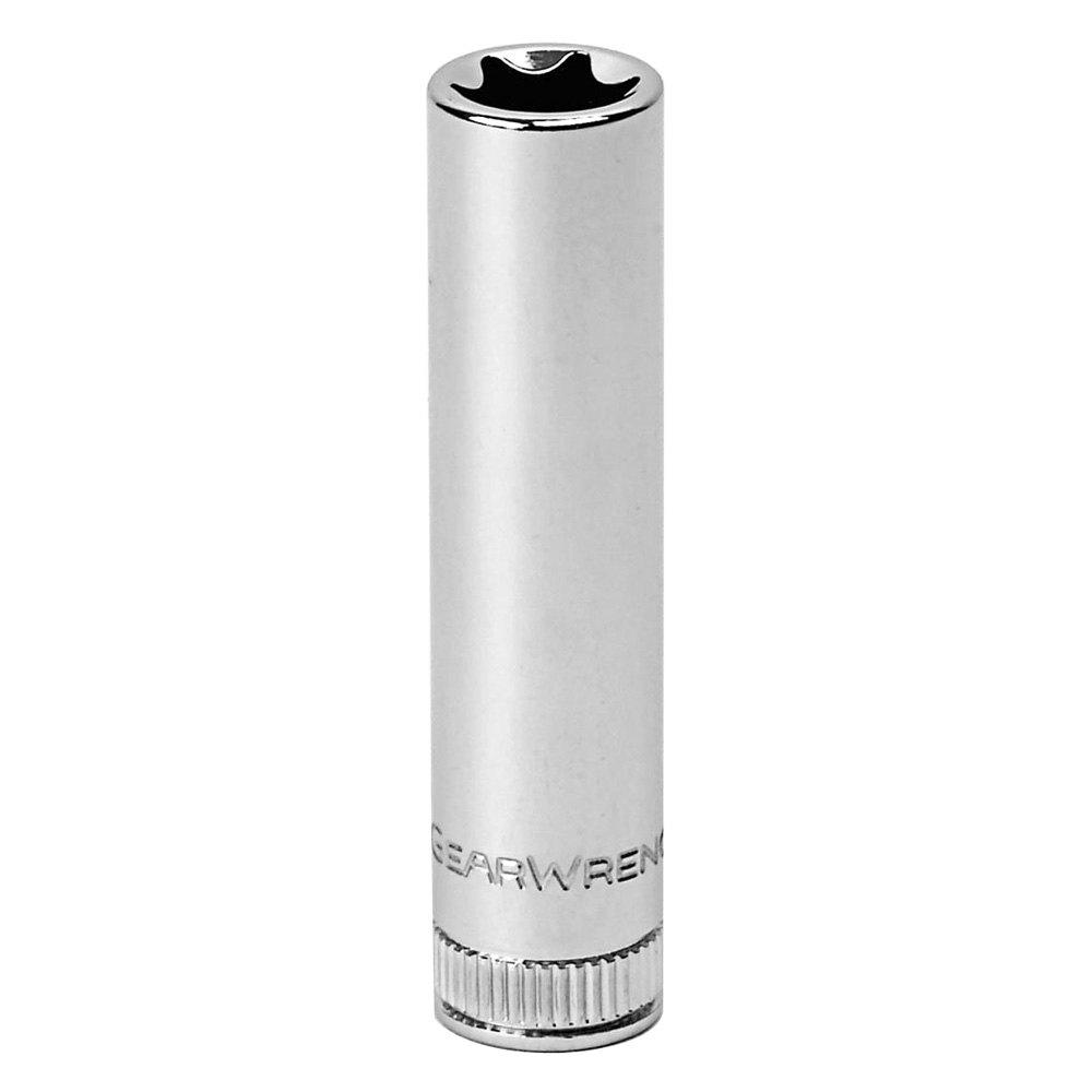 gearwrench 80196 1 4 drive external torx e10 deep socket