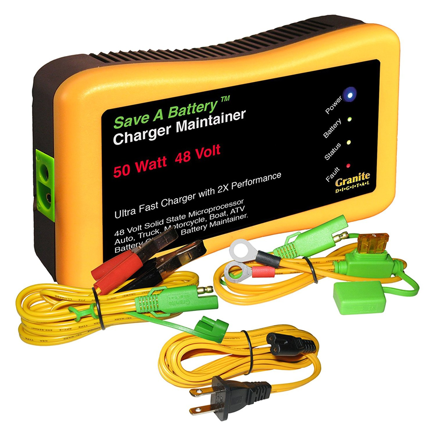 Granite Digital® - Save A Battery Charger/Maintainer