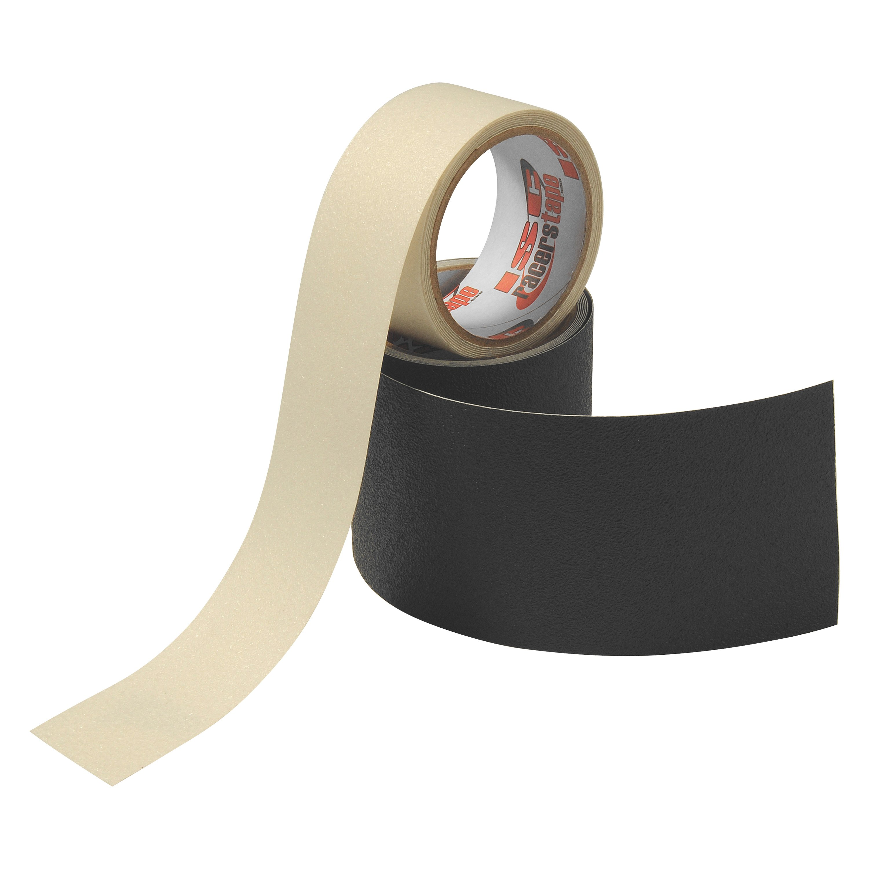 "RUBBERIZED NON-SKID TAPE CLEAR 2/""  X 7.5/'"