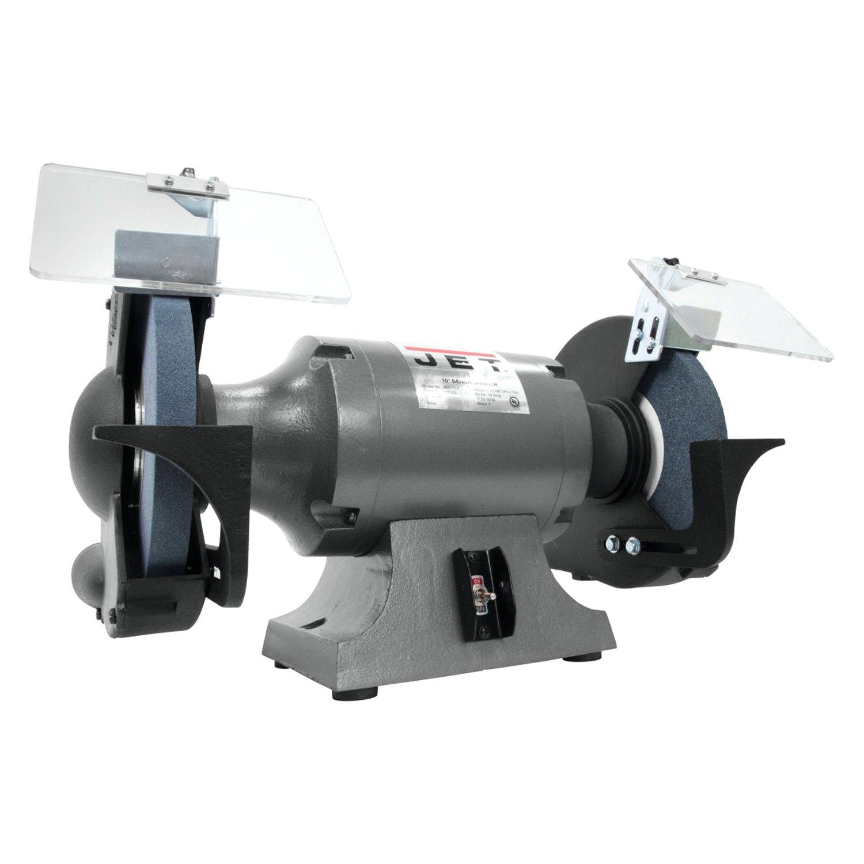 Jet Tools 174 577103 10 Quot 120v Bench Grinder Toolsid Com