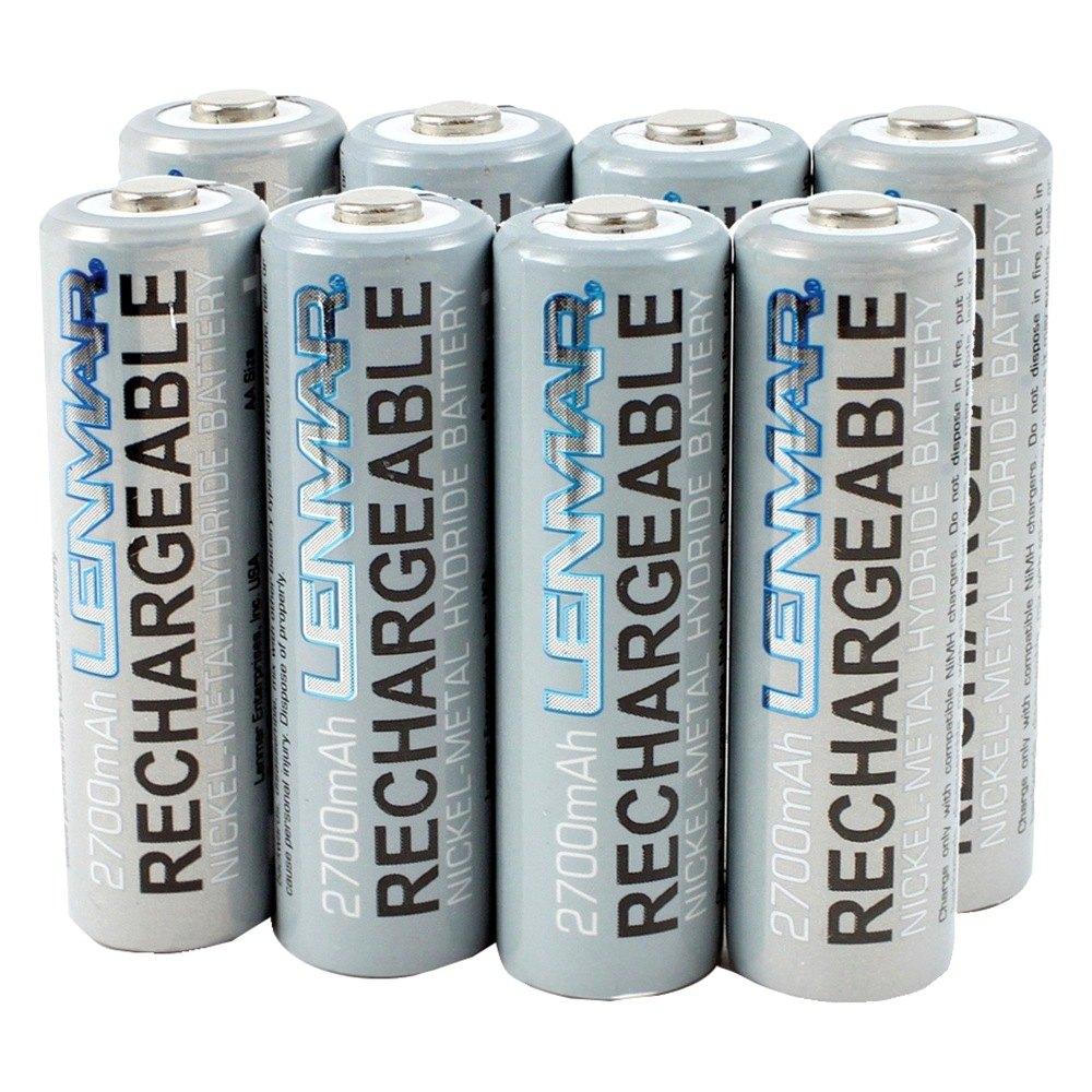 Nickel Metal Hydride Battery >> Lenmar Aa Size Nickel Metal Hydride General Purpose Battery
