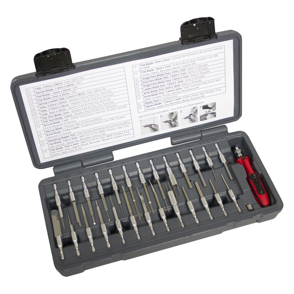 Lisle® 71750 - LED Quick Change Terminal Removal Tool Set