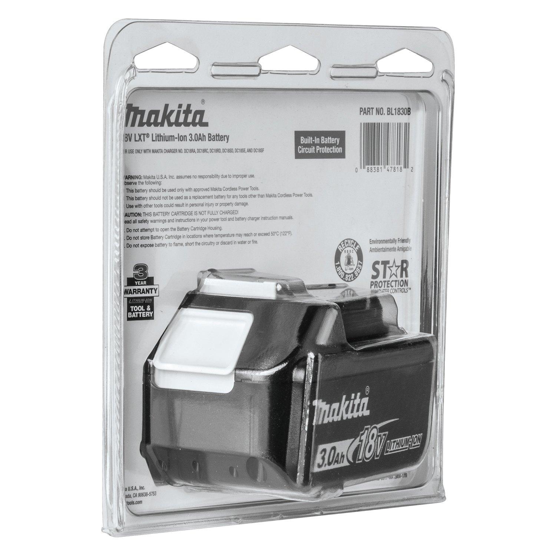 Makita® BL1830B - LXT™ 18V 3 0Ah Li-Ion Battery