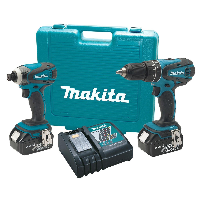 makita xt211m lxt 18v 2 tool combo kit