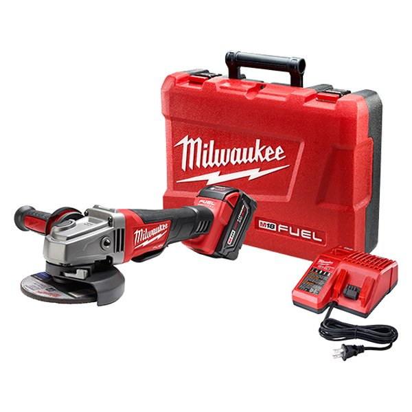 Milwaukee 9 inch cordless grinder pet film