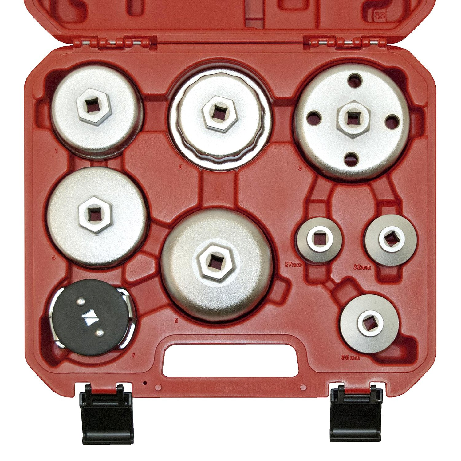 OEM Tools® - Steel Oil Filter Cap Wrench Set
