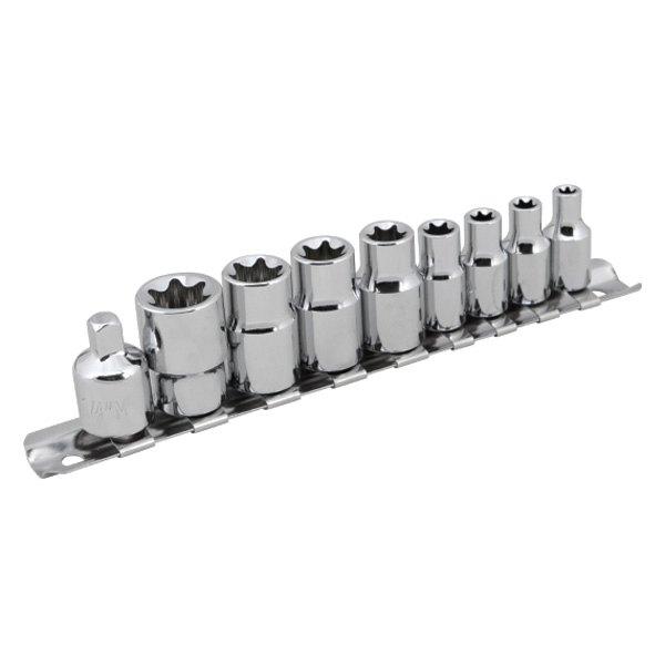 Performance Tool® W1338 - External Torx Socket Set, 9 Pieces
