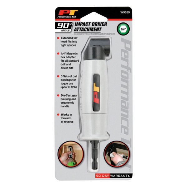 Performance Tool® W9029 - 90° Impact Driver Attach