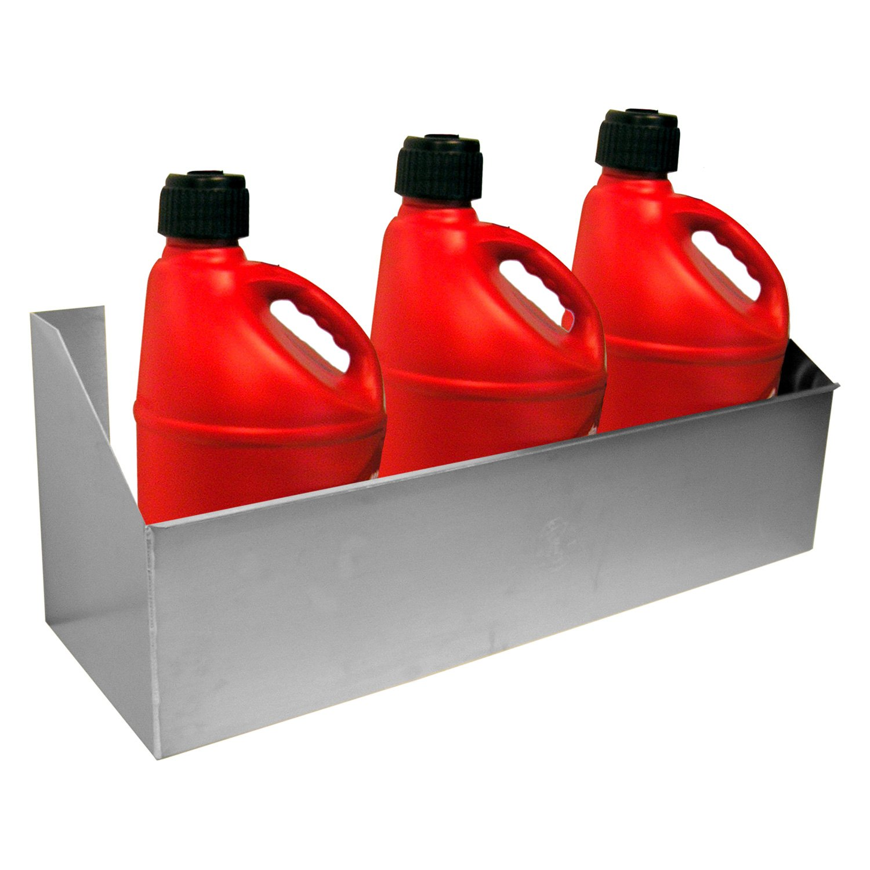PIT-PAL PRODUCTS 182 Fuel Jug Rack 3 Bay