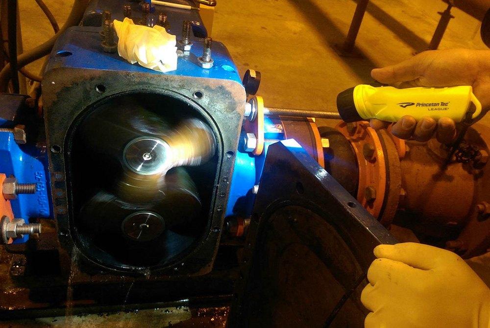 Neon Yellow Princeton Tec League LED Flashlight LG4-NY 420 Lumens