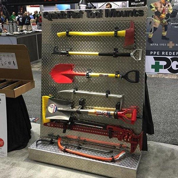 Super Quick Fist/® Clamp for mounting tools /& equipment 2-1//2-9-1//2 diameter