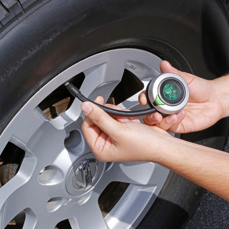 Psi Tire Pressure >> Slime 20187 0 To 120 Psi Wraparound Digital Tire Pressure Gauge