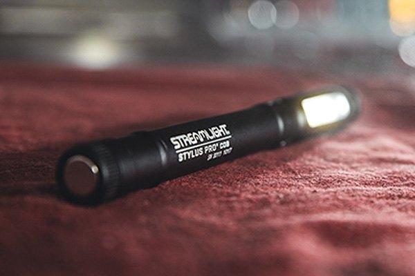 Streamlight 66706 Stylus Pro® COB LED USB Rechargeable Pen Light BLUE
