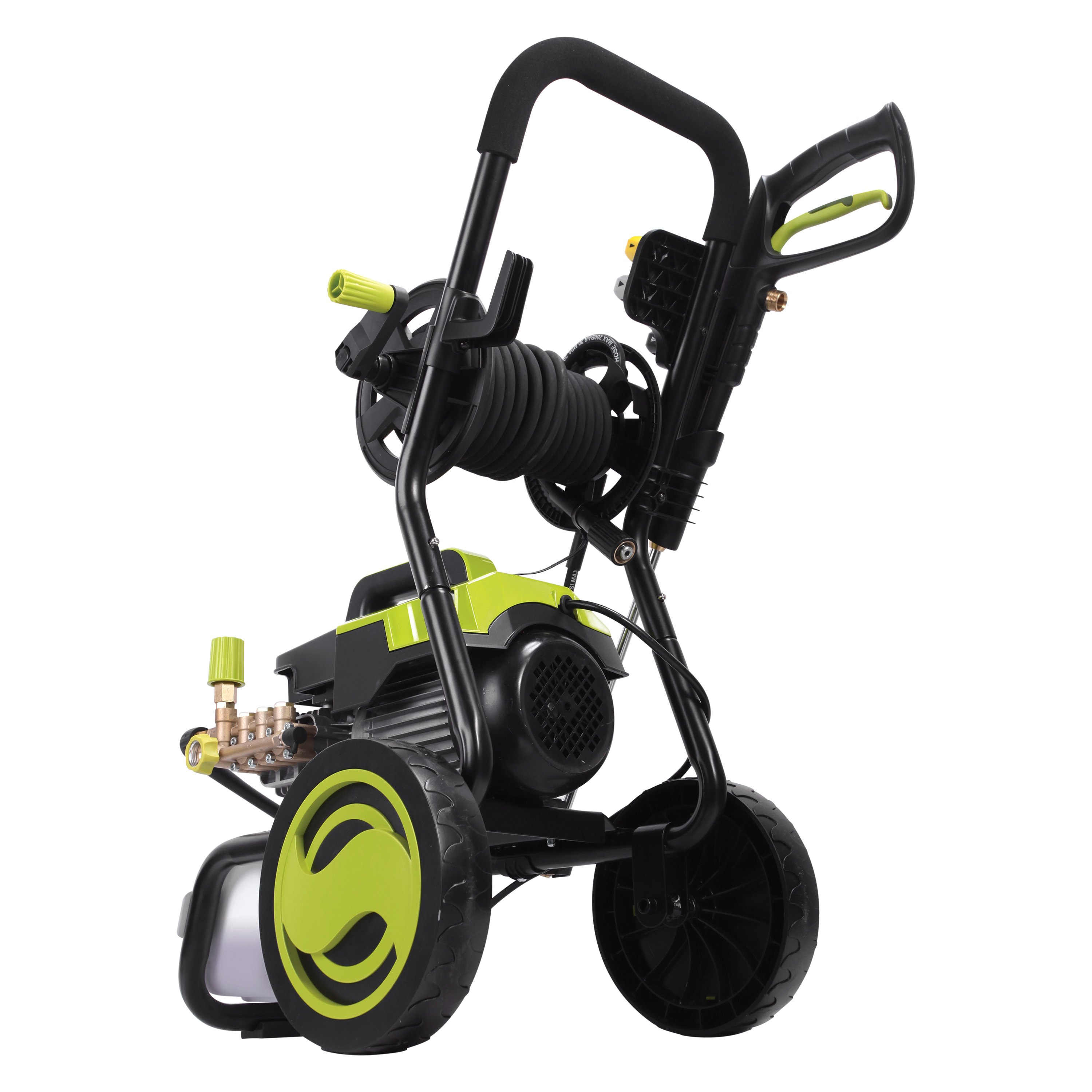 Sun Joe® SPX9006-PRO - 1300 PSI Commercial Cold Water Electric Direct Drive  Crank Shaft Pressure Washer with Roll Cage and Hose Reel