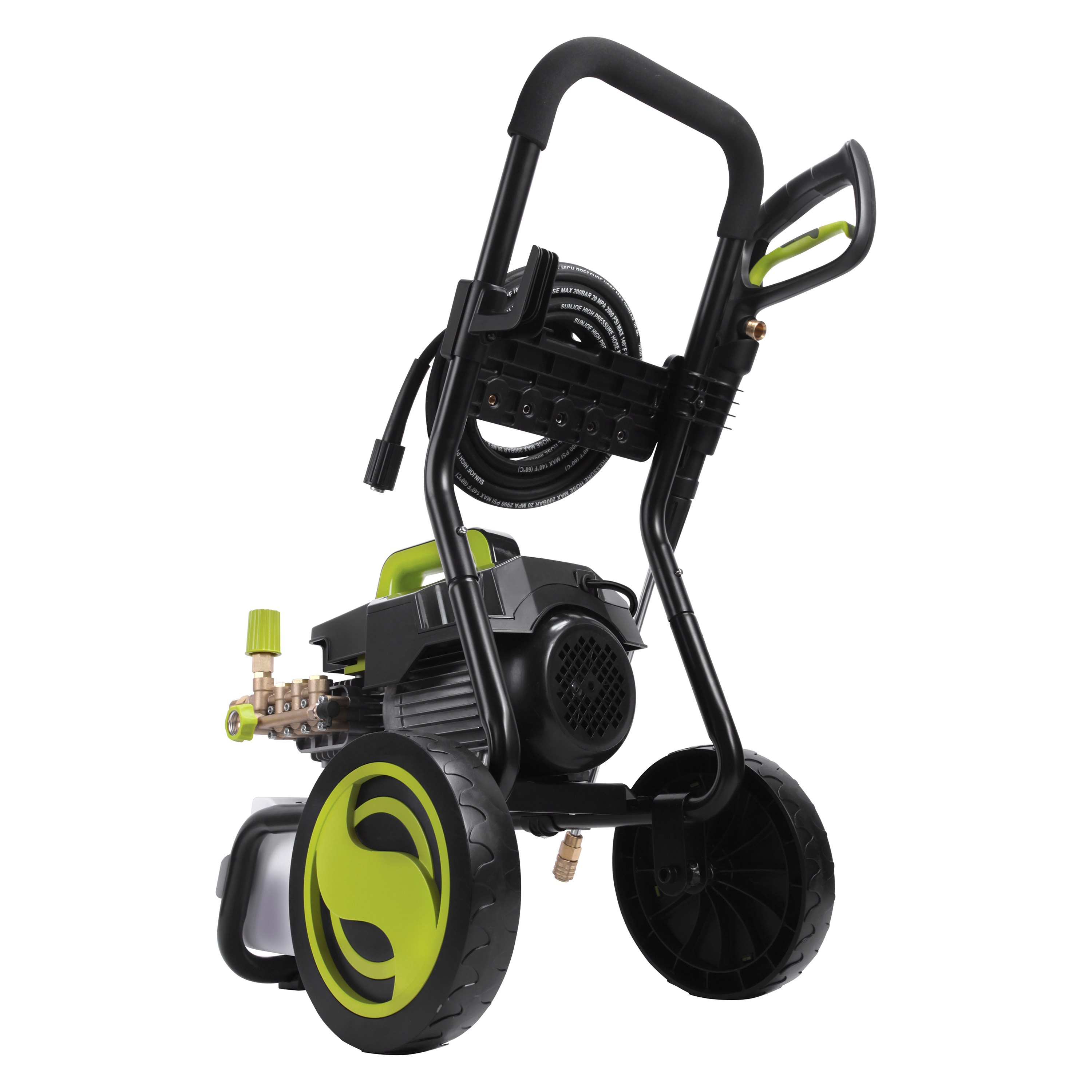 Sun Joe® SPX9008-PRO - 1800 PSI Commercial Cold Water Electric Direct Drive  Crank Shaft Pressure Washer with Roll Cage
