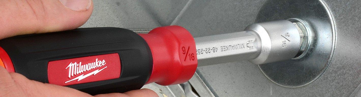 7 pc ATD-6258 Brand New! Metric Nut Driver Set