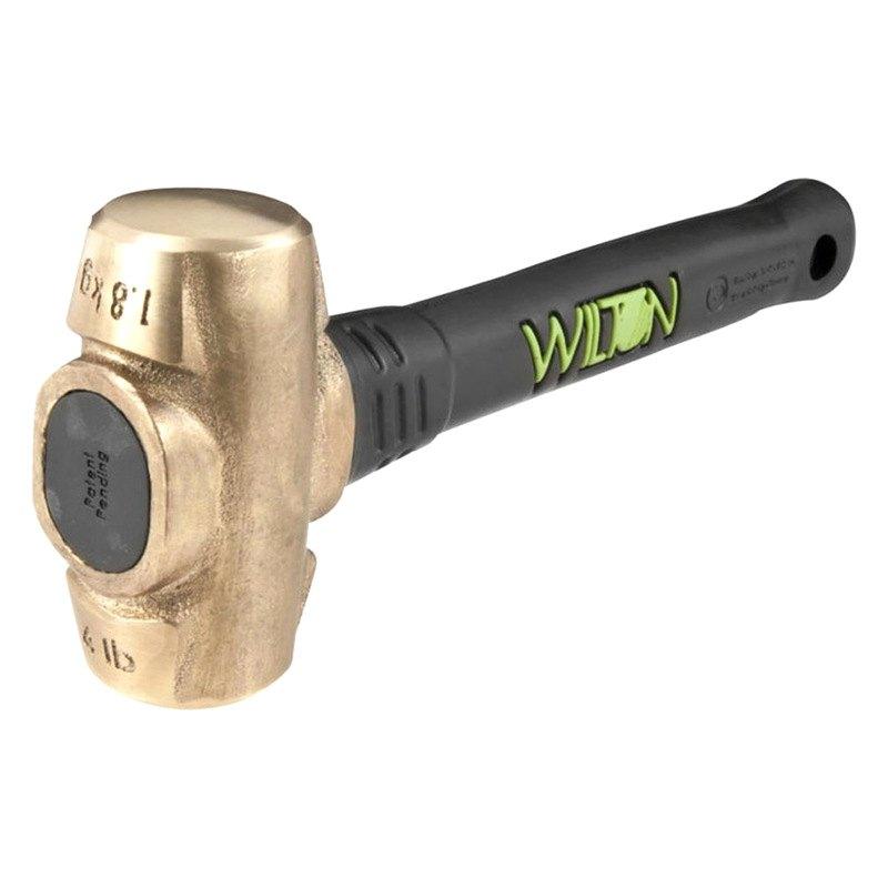 Wilton 174 90412 B A S H Brass Sledge Hammer Toolsid Com