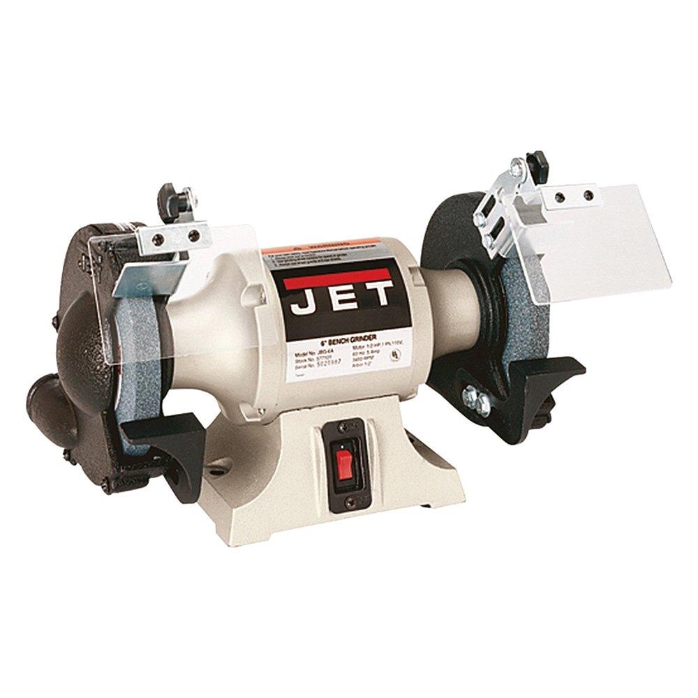 Jet Tools 174 577101 6 Quot Industrial Bench Grinder Toolsid Com