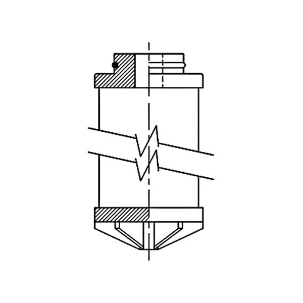 wix u00ae g06a874 - industrial hydraulics compressed air filter cartridge