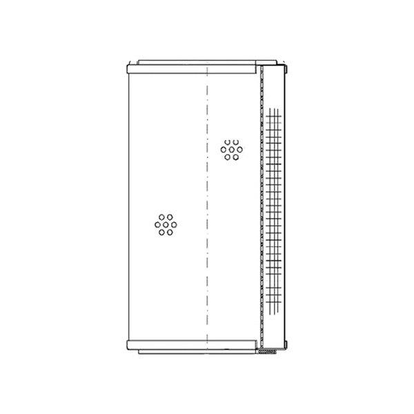 wix u00ae k14b453 - industrial hydraulics air filter
