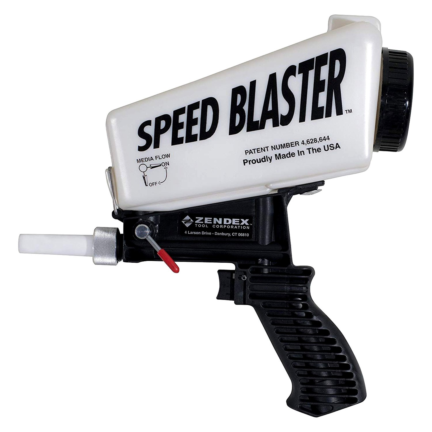Zendex® 007 - SpeedBlaster™ Gravity Feed Media Blaster
